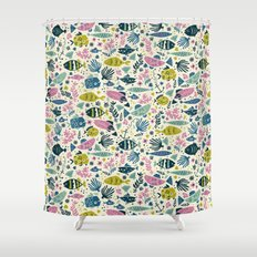 Little Fish Shower Curtain
