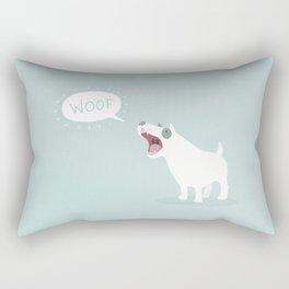 Woof Rectangular Pillow