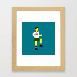 Soccer Mosaic Kit Framed Art Print
