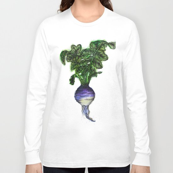 Rooted: The Rutabaga Long Sleeve T-shirt