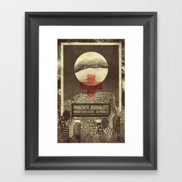 Parachute Journalists - Temptation Framed Art Print
