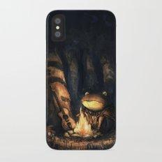 Campfire Frog Slim Case iPhone X