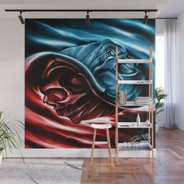 The two races Wall Mural