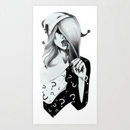 Gotham Masquerade II Art Print