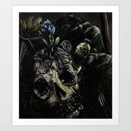 Garbage: frustration Art Print