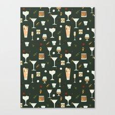 Prohibition Cocktails Canvas Print
