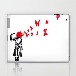 banksy gun Laptop & iPad Skin