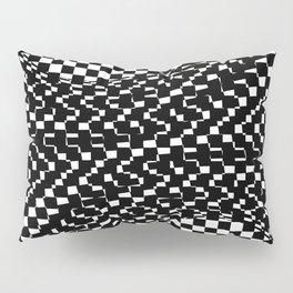 black white Pillow Sham
