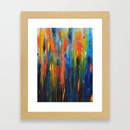 When It Rains, It Pours Framed Art Print