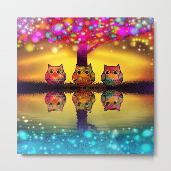 owl-97 Metal Print