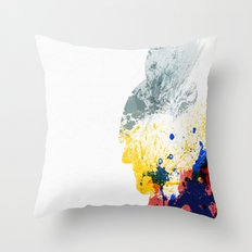 Nordic Star Throw Pillow
