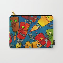 Robot - Robot Party 2 (Zero Gravity) Carry-All Pouch