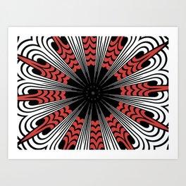 warpaint 2 Art Print