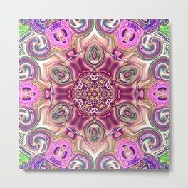 Star Flower of Symmetry 707 Metal Print