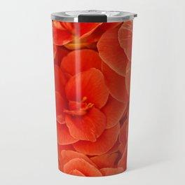 Red Camelias... Travel Mug