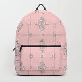 Encore Deco (pink-silver) Backpack