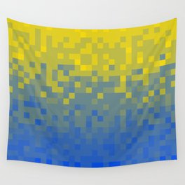 Pixel colour Wall Tapestry