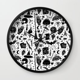 Witchcraft Wall Clock
