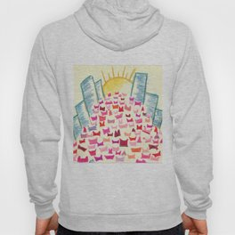 Pink Hats March for Equality Hoody