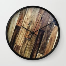 Panel Floor Beauty Wall Clock
