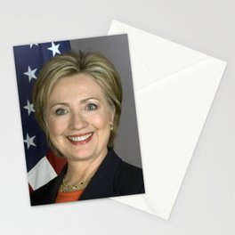 Hillary Clinton Stationery Cards