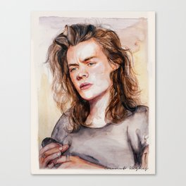 Harry watercolors III Canvas Print