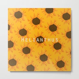 Helianthus Metal Print