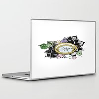 compass Laptop & iPad Skins featuring Compass by KayleneMcKenney