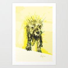 Digital Drawing #15 Art Print