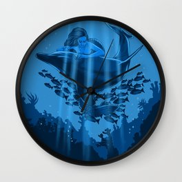 The Underwater Fantasy Wall Clock