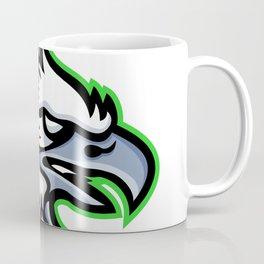 American Harpy Eagle Mascot Coffee Mug