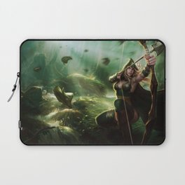Sherwood Forest Ashe League of Legends Laptop Sleeve