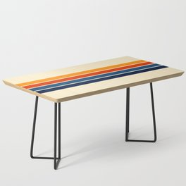 Classic Retro Stripes Coffee Table