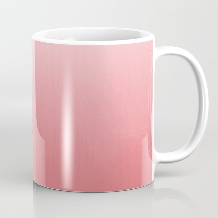 Ombre fade pastel trendy color way throwback retro palette 80s 90s style  Coffee Mug