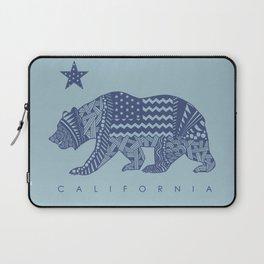 Blue California Laptop Sleeve