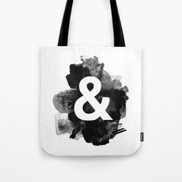 Ampersand Paint Tote Bag