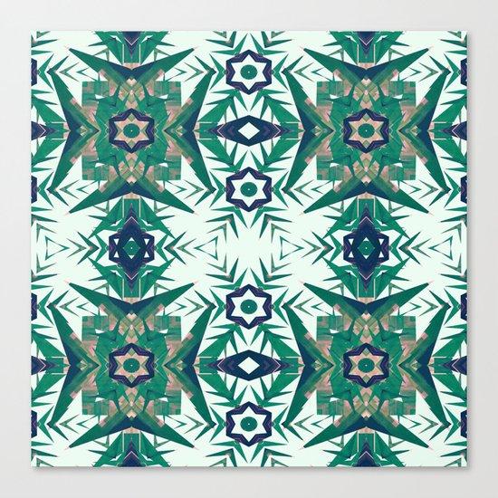 Tropical Snowflakes Canvas Print