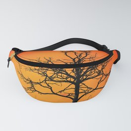 Sunset With Winter Tree (Landscape) Fanny Pack