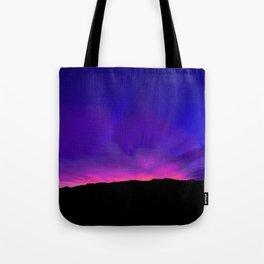 SW Mountain Sunrise - 6a4 Tote Bag
