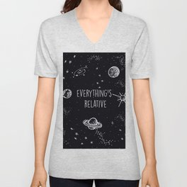 Everything's  Relative Unisex V-Neck