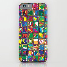 Stacks Geometric Art Print. Slim Case iPhone 6s