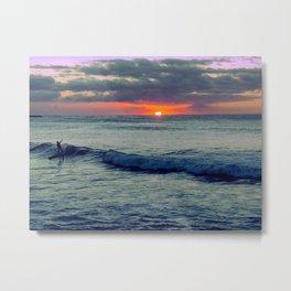 Last Wave Metal Print
