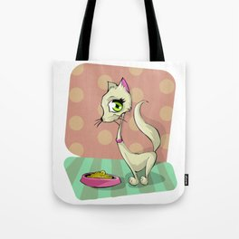 Sexy Cat Woman Tote Bag