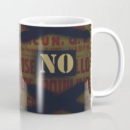 No Bullfighting. Better dance a Paso Doble instead Coffee Mug