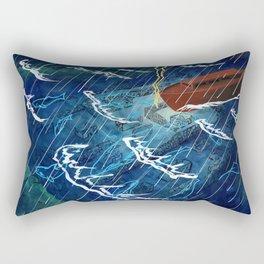 First Judgement (Noah's Ark)  Rectangular Pillow