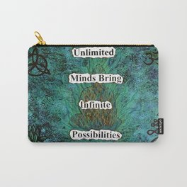 Unlimited Minds Carry-All Pouch