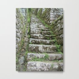 Steps on the Inca Trail Metal Print