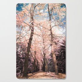 Ginkgo biloba trees Cutting Board