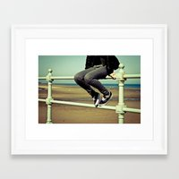 vans Framed Art Prints featuring Vans by Zsolt Kudar