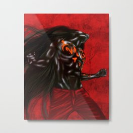 Rem Digital Portrait Metal Print